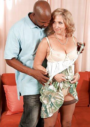 Interracial Granny Porn