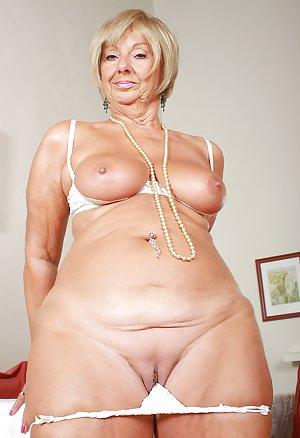 Granny in Lingerie Porn
