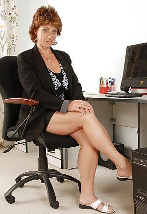 Granny Secretary Porn