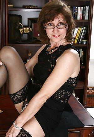 Granny in Glasses Porn