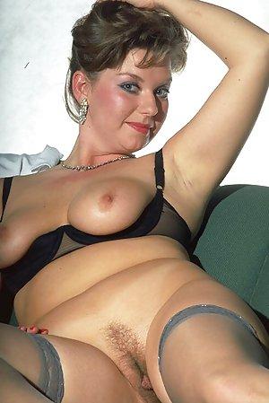 Granny in Stockings Porn