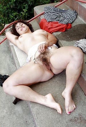 Outdoor Granny Porn