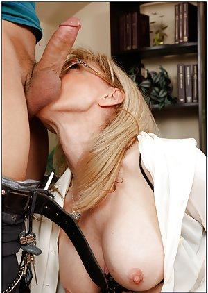 Granny Ball Licking