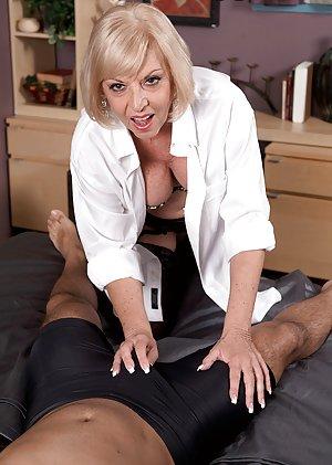 Granny in Uniform Porn