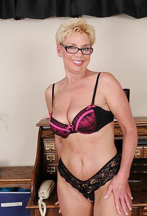 Granny in Glasses Porn