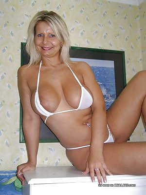 Granny in Bikini Porn
