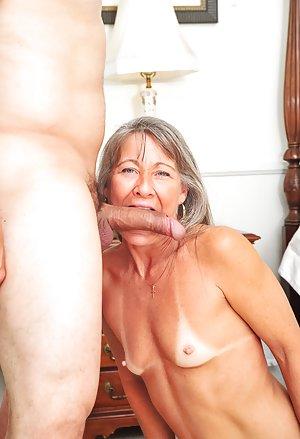 Small Tits Granny