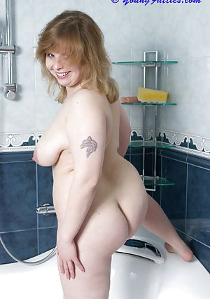 Granny in Shower