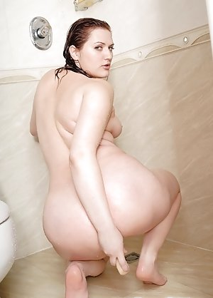 Granny in Shower