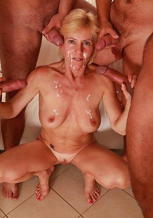 Interracial Gangbang Porn