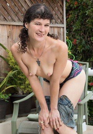 Small Tits Granny Porn